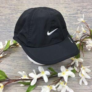 Nike black nylon kids hat